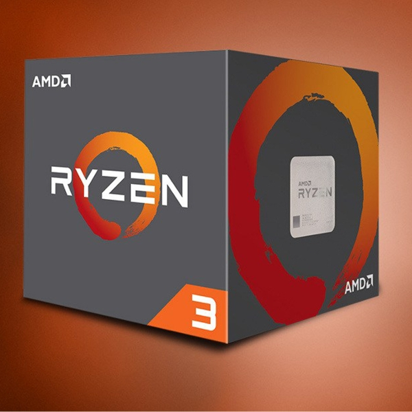 CPU AMD Ryzen 3 1200 3.1 GHz (3.4 GHz with boost) / 8MB / 4 cores 4 threads / socket AM4