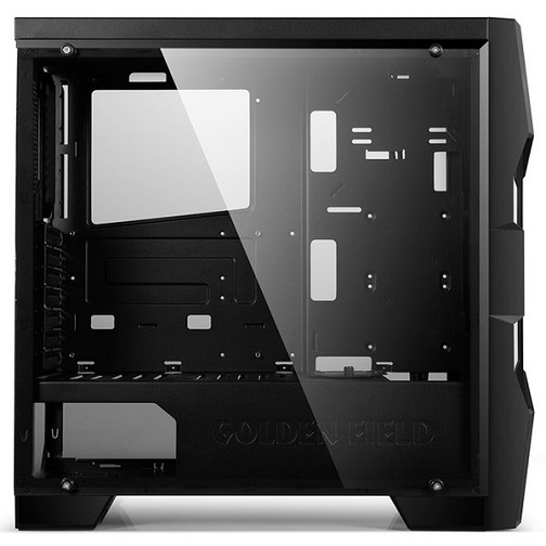 Case Golden Field Z5 eSport 21+ (Mid Tower / 6 slot fan 120mm / RGB LED / Black)