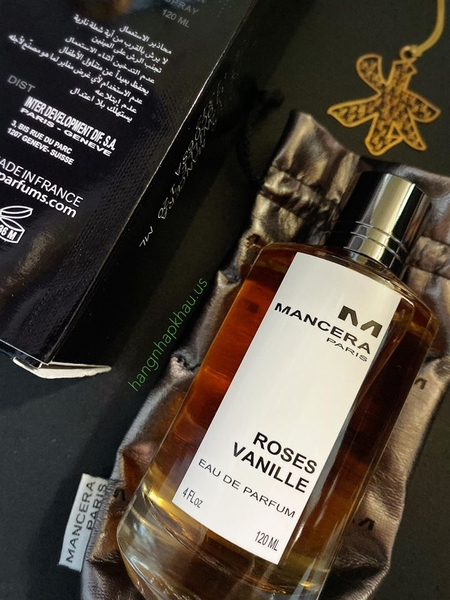 Mancera Roses Vanille EDP 120ml TESTER - MADE IN FRANCE