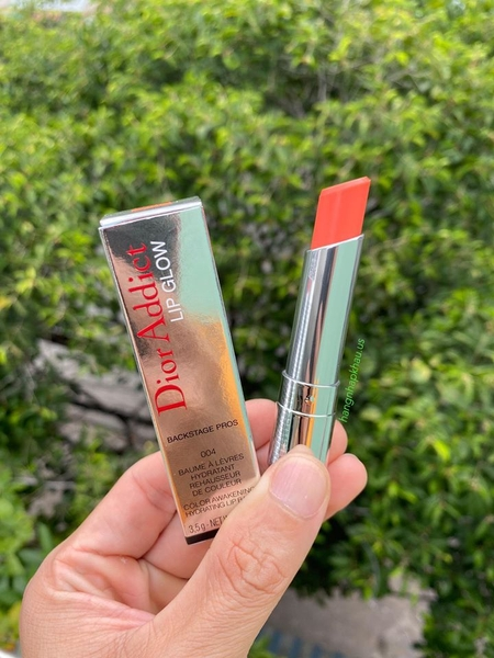 Son dưỡng DIOR Addict Lip Glow 004 Coral - MADE IN FRANCE.