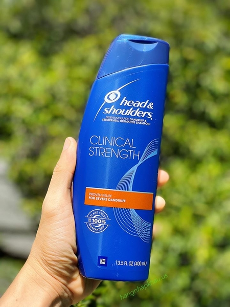 Head & Shoulders Clinical Strength 400ml- MADE IN USA.
