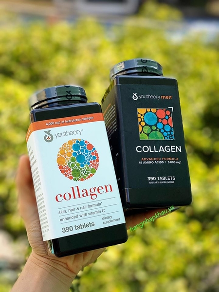 Combo Collagen Youtheory 390 viên - MADE IN USA.
