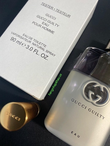 Gucci Guilty Eau Pour Homme EDT 90ml TESTER - MADE IN FRANCE.