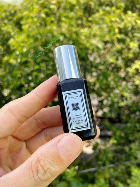 Jo Malone Myrrh And Tonka Cologne Intense (9ml) - MADE IN UK.