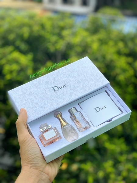 Set Dior 3 Chai - MADE IN FRANCE.