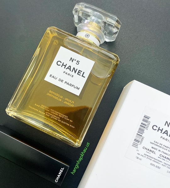 Chanel No.5 EDP 100ml TESTER - MADE IN FRANCE.