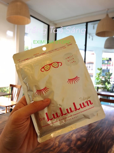 🇯🇵🇯🇵🇯🇵 Lululun Face Mask- Trắng Tỏa Sáng 🇯🇵🇯🇵🇯🇵