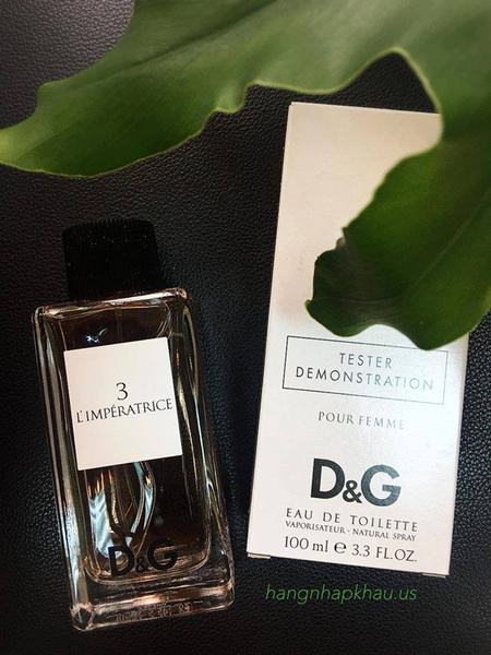 D&G L'Imperatrice 3 EDT 100ML TESTER