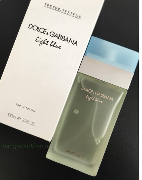Dolce & Gabbana Light Blue EDT 100ml TESTER - MADE IN FRANCE