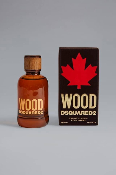Wood Dsquared2 Eau De Toilette Pour Homme Natural 100ml.