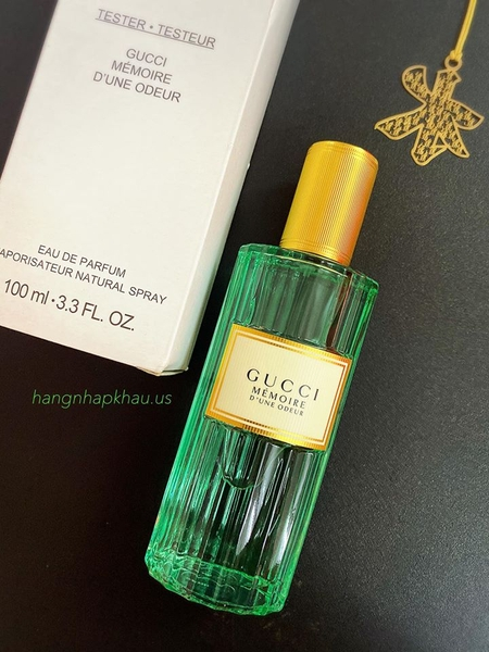 Gucci Mémoire d'une Odeur EDP 100ml TESTER - MADE IN FRANCE.