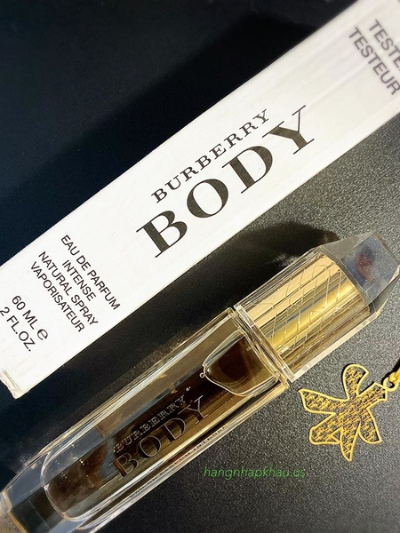 Burberry Body EDP Intense 60ml TESTER - MADE IN FRANCE.