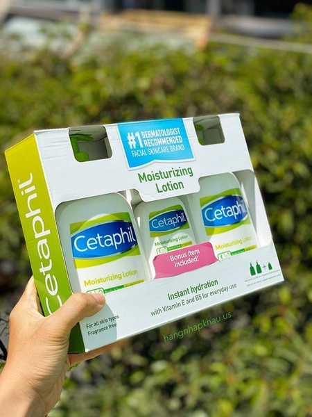 Cetaphil Moisturizing Lotion - Fragrance Free - MADE IN CANADA.