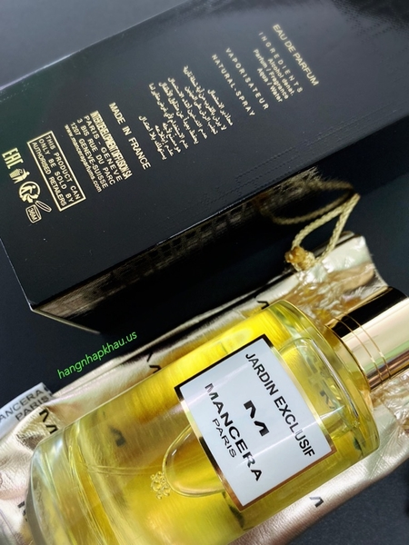Mancera Jardin Exclusif EDP 120ml TESTER - MADE IN FRANCE.