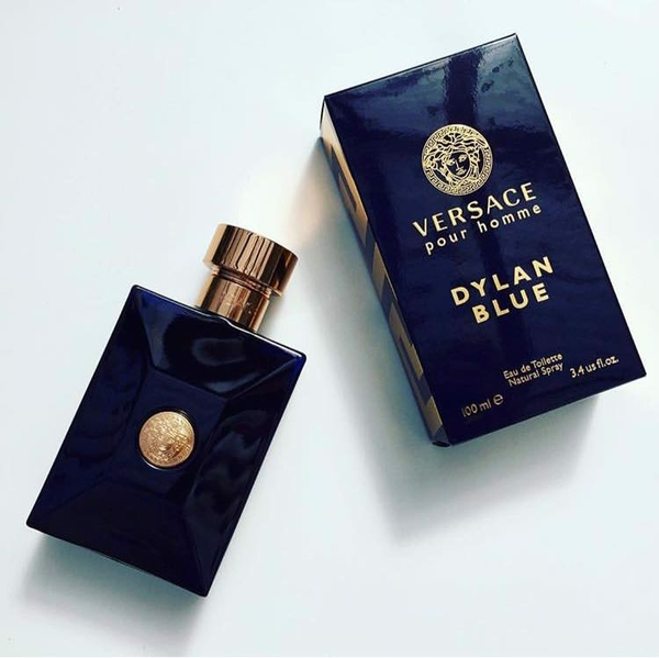 Versace Dylan Blue EDT 100ml - MADE IN ITALY.