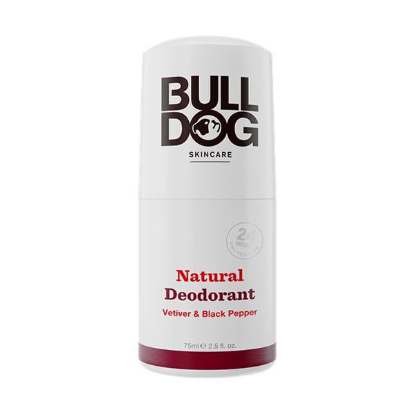 Lăn Khử Mùi Bulldog Vetiver & Black Pepper Natural Deodorant