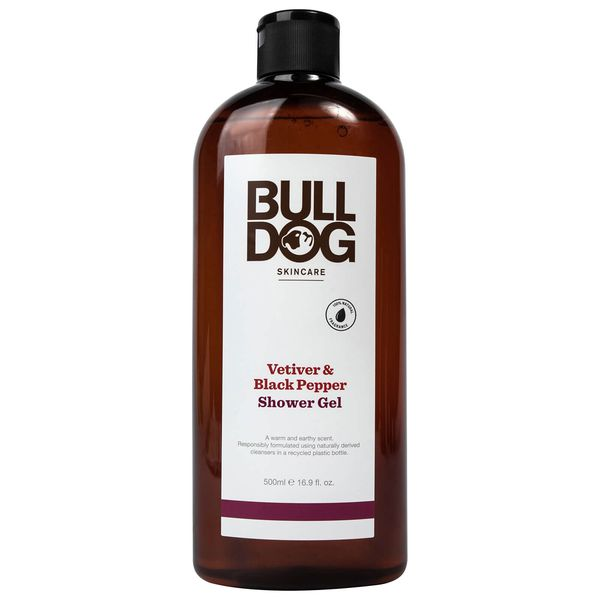 Sữa Tắm BullDog Vetiver & Black Pepper Shower Gel 500ml