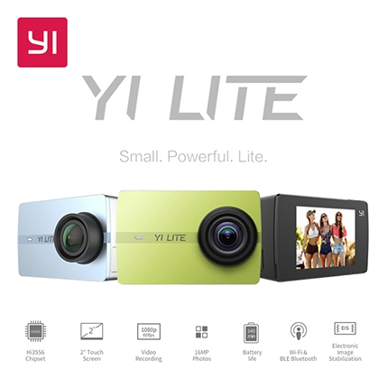 Camera Hành Động Xiaomi Yi Lite 16MP Real 4K Sports Camera