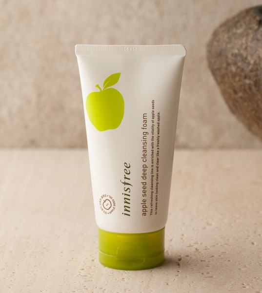 Sữa Rửa Mặt Innisfree Apple Seed Deep Cleansing Foam