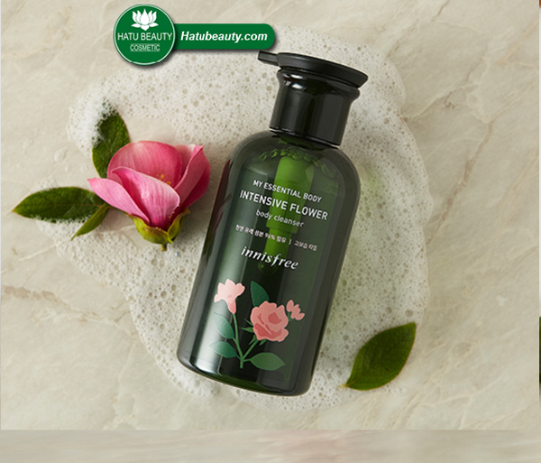 Sữa tắm Innisfree My Essential Body Intensive Flower Body Clear