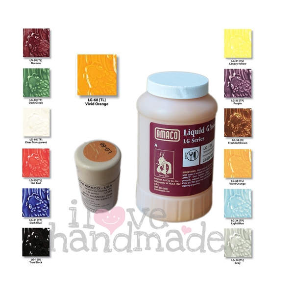 Màu men gốm Liquid Gloss Glazes Amaco
