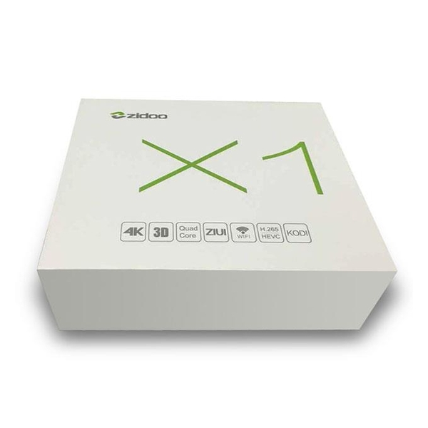 Android Tv Box Zidoo X1