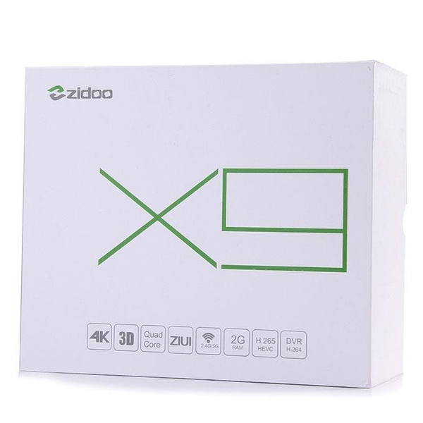 Android Tv Box Zidoo X9