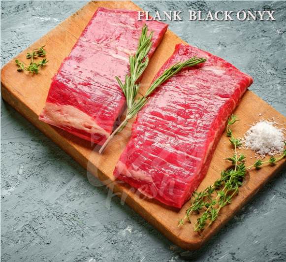 FLANK STEAK BOX, BLACK ONYX
