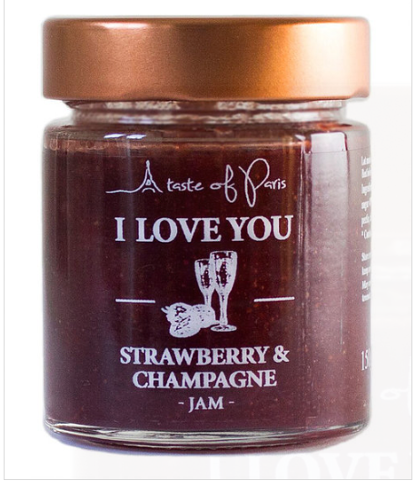 Jam Stawberry Champagne 150g