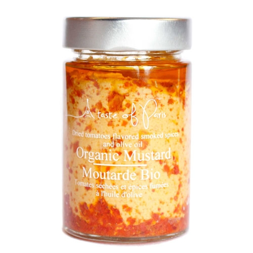 Organic Mustard Dried Tomato & Smoked Spices 190g