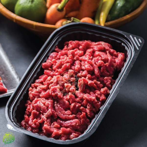 GROUND BEEF-BÒ XAY<BR>PURE, BLACK ANGUS