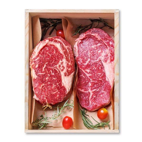 RIBEYE STEAK BOX, BLACK ONYX