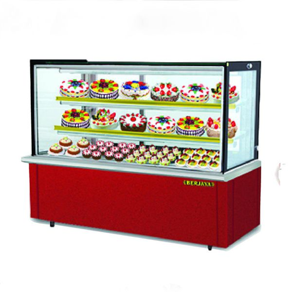 Tủ trưng bày bánh Rectangular Confectionery Showcase – Laminated Base RCS 4GM