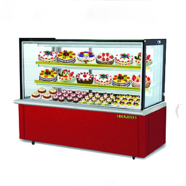 Tủ trưng bày bánh Rectangular Confectionery Showcase – Laminated Base RCS 6GM