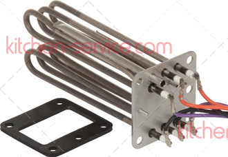 Linh kiện Rational - Điện trở Rational 87.00.371 HEATING ELEMENT WITH GASKET SCC