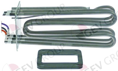 Linh kiện Rational - Điện trở Rational 87.01.011 HEATING ELEMENT WITH GASKET SCC