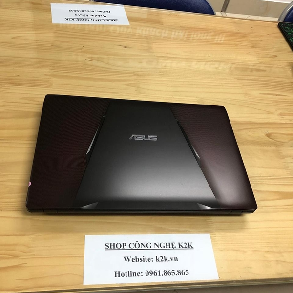 Asus GL553VD-FY305 (Intel Core i7-7700HQ 2.8GHz, 8GB RAM, 1TB HDD, VGA NVIDIA GeForce GTX 1050, 15.6 inch Full HD, Free DOS)