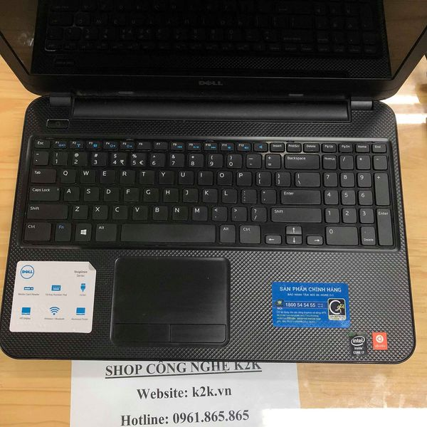 Dell Inspiron 15R 3537 (Intel Core i7-4500U 1.8GHz, 4GB RAM, 500GB HDD, VGA Intel HD Graphics 4400, 15.6 inch HD)