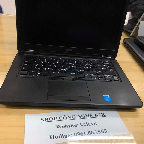Dell Latitude E5450 (Intel Core i5-5300U 2.3GHz, 4GB RAM, 320GB HDD, VGA Intel HD Graphics 5500, 14 inch, Windows 10 Home)