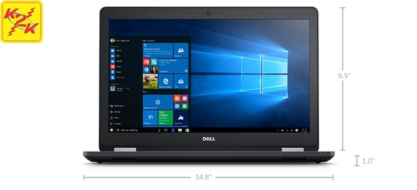 Dell Latitude E5570 (Intel Core i7-6600U 2.6GHz, 8GB RAM, 256GB SSD, AMD R7 M360 - 2GB GDDR5, 15.6 inch, Windows 7 Professional 64 bit)