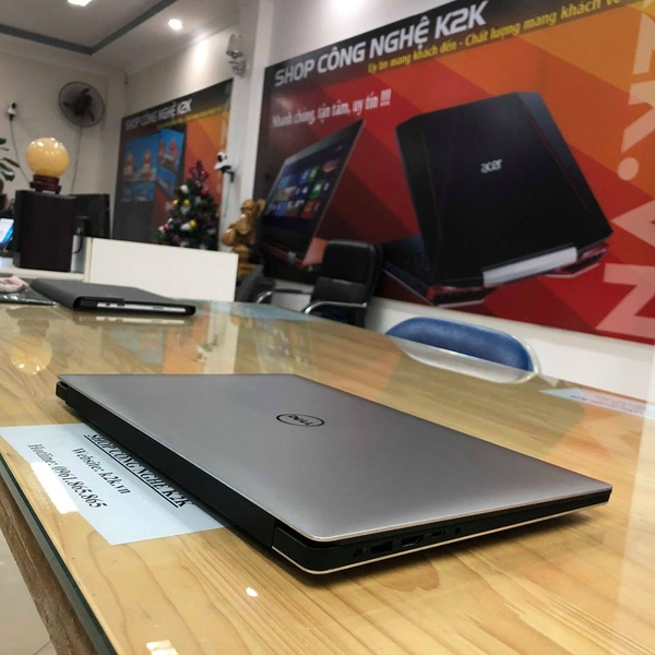 DELL XPS 15 9550  Core i5-6300HQ, RAM 8GB PC4L, 256GB SSD M2, nVIDIA GTX 960M - 4GB GDDR5, 15.6 UHD 4K (3840x2160) Touch Screen, WIN 10.