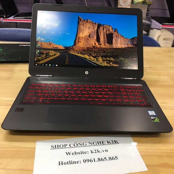 HP Omen 15 (Intel Core i5-6300HQ 2.3GHz, 4GB RAM, 1TB HDD, VGA NVIDIA GeForce GTX 960M, 15.6 inch Full HD, Windows 10 Home 64 bit)