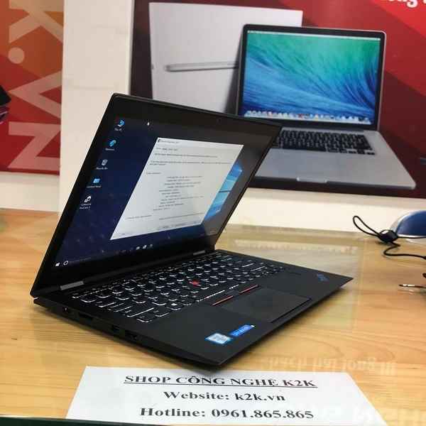 Lenovo ThinkPad X1 Carbon Gen 3 (Intel Core i7-5600U 2.6GHz, 8GB RAM, 256GB SSD, VGA Intel HD Graphics 5500, 14 inch FHD, Windows 7 Pro 64 bit)