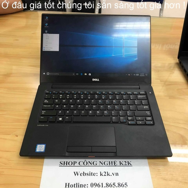 DELL LATITUDE E7370 Core M7-6Y75 / RAM 8GB / SSD 256Gb / 13,3