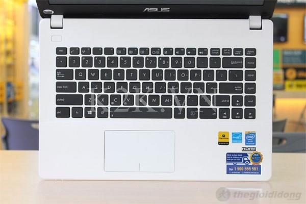 Asus X451CA-VX091D (Intel Pentium 2117U 1.8GHz, 2GB RAM, 500GB HDD, VGA Intel HD Graphics, 14 inch, Free DOS)