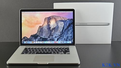 Apple Macbook Pro Retina (Late 2013) ME294 (Intel Core i7 2.3GHz, 16GB RAM, 512GB SSD, VGA Intel Iris Pro Graphics, 15.4 inch, Mac OS X Mavericks)