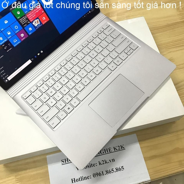 Surface Book 1/ i7-6600U/ Ram 16GB/ 1T NVME SSD/ GPU  (Like new 99%)