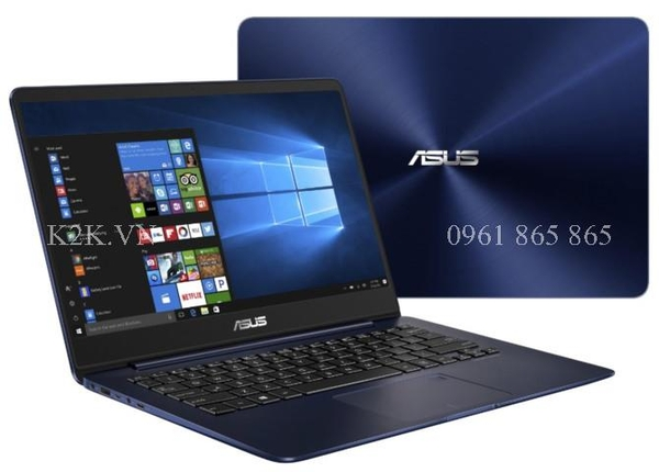 Asus Zenbook UX430UA (Intel Core i5-7200U 2.5GHz, 8GB RAM, 256GB SSD, VGA Intel HD Graphics 620, 14 inch Full HD, Free DOS)
