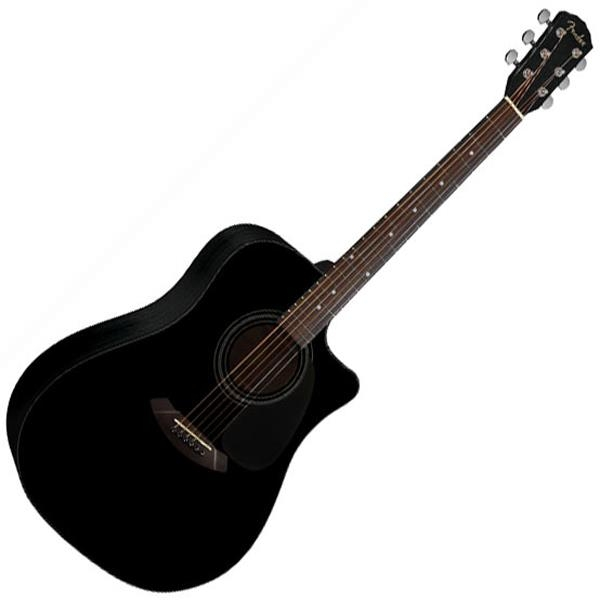 Đàn Guitar Fender CD-60CE Black