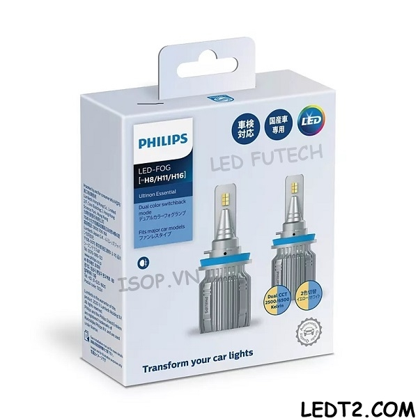 Đèn gầm LED Philips Ultinon Essential Dual CCT